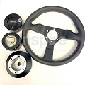 Steering Wheel with Quick Release Combo