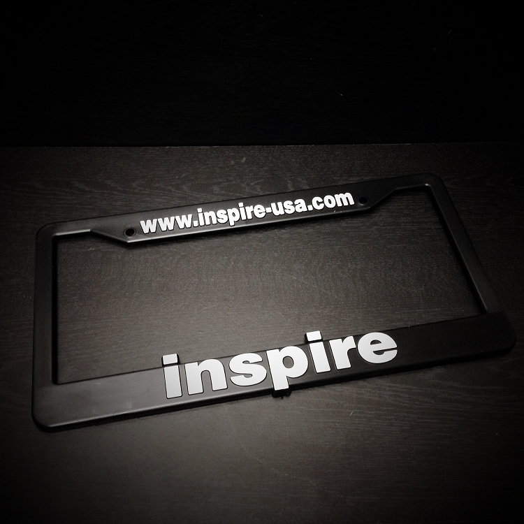 Inspire USA License Plate Frame V.2 (PAIR)