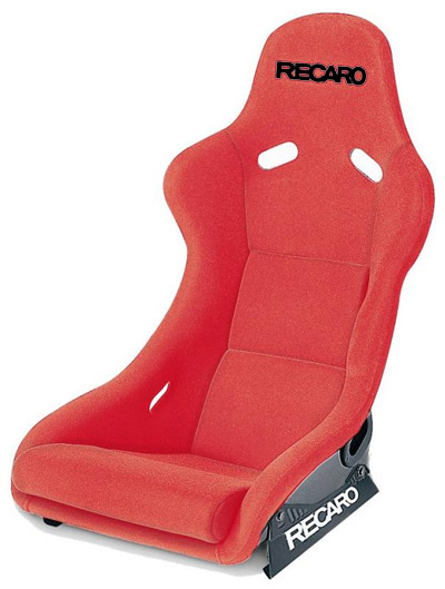 Recaro Pole Position Velour Red