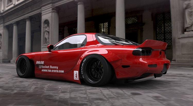 Rocket Bunny Mazda Rx7 Fd3s Version 2