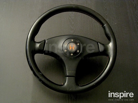 jdm oem civic type r steering wheel race vers. Black Bedroom Furniture Sets. Home Design Ideas