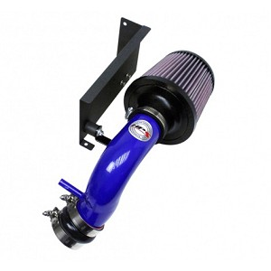 HPS Shortram Air Intake w/ Heat Shield - Mini Cooper S 1.6L Supercharged Convertible 07 (Blue)