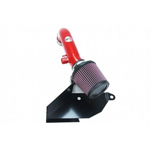 HPS Shortram Air Intake w/ Heat Shield - Volkswagen Golf 1.8T TSI Turbo 15-17 (Red)