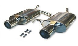 CT Engineering Exhaust - Stainless Axleback (99-03 TL, TL-S)