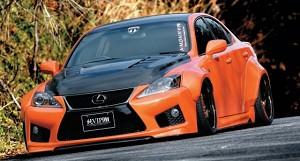 Aimgain VIP GT Front + Rear Over Fender Set - Lexus 08+ IS-F
