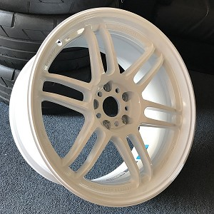 AME Tracer TM02 Wheels 18x9.0 +15 & 18x10.0 +15 Staggered 5x114.3 White
