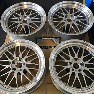 BBS LM 20x9 and 20x10 5x120 F80 M3 Spec