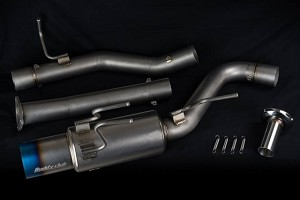 Buddy Club Racing Spec Ti Full Catback Exhaust - Honda S2000