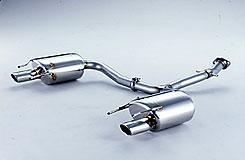 Fujitsubo Legalis Elegant Dual Cat-Back Exhaust - Lexus IS250/350 06-13