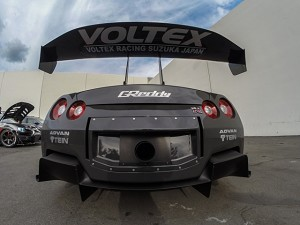 "Voltex Underwing Decal (38"" x 8.5"") - Gloss Silver"