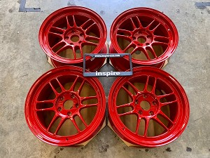 Enkei Racing RPF1 17x9.0 +22 5x114.3 Competition Red