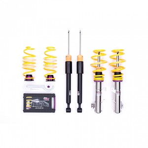 KW Suspensions Variant 1 (V1) Coilovers - Audi A4 (8E/B6/B7) Sedan; FWD; all engines 01-08