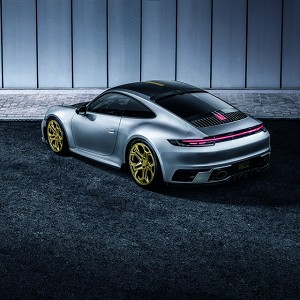 TECHART Roof Spoiler - Porsche 992 Carrera