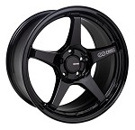 Enkei TS5 Wheel - 17x8 / 5x114.3 / Offset +40 - Gloss Black