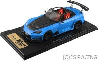 One model J's Racing S2000 TYPE-GT 1/18 Resin Model Apex Blue Pearl