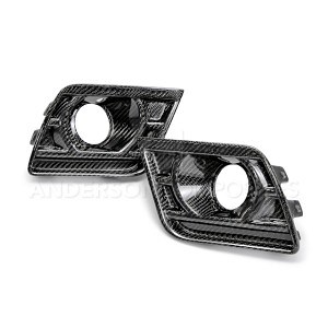 Anderson Composites Type-Z28 Fog Light Bezels (Pair) - Chevrolet Camaro Z28 2014-2015