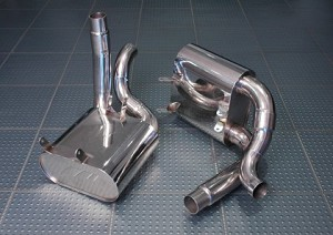AWE Tuning Performance Muffler Set (for PSE tips) - Porsche 997/997S