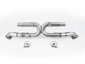 AWE Tuning Performance Exhaust - Chrome Silver Tips - Porsche 991 Carrera