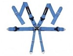 Cusco Racing Harness 6 Point 3 inch width Blue