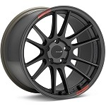 Enkei GTC01RR Wheel (Face-F) - 18x8.5 / 5x112 / Offset +45 - Dark Gunmetallic