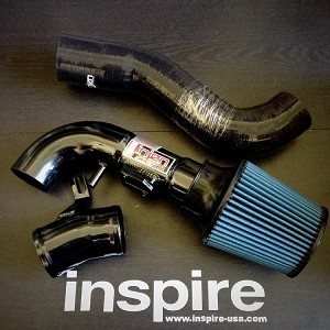 Injen Cold Air Intake Black 2009-13 Honda Fit Base and Sport
