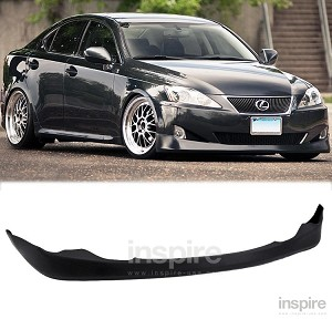 Lexus IS250/350 2006-08 Vertex Style Polyurethane Front Lip