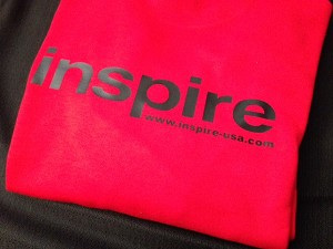 Inspire USA Limited Edition Crewneck Sweater Fire Red Black