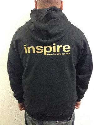 Inspire USA 50/50 Classic Gold Hooded Jumper