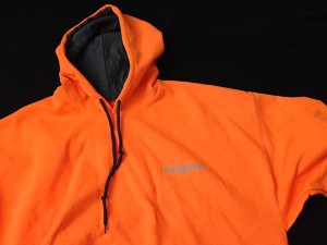Inspire USA Limited Edition Hooded Sweatshirt Free Run Orange Gray