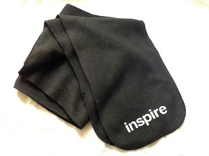 Inspire USA Limited Winter Fleece Scarf