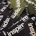 inspireUSA Decal 2x3.5 PAIR