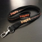 inspireUSA Lanyard Orange