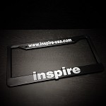 inspireUSA License Plate Frame (PAIR)