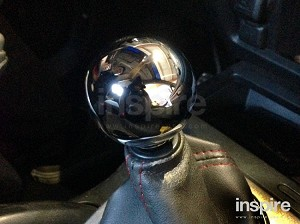 Polished Round Weighted Shift Knob (universal)