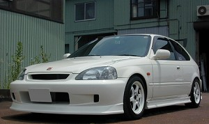 J Blood EK9 Civic Front Bumper
