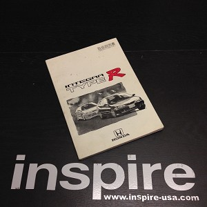 JDM Honda Integra Type R User Manual (USED)