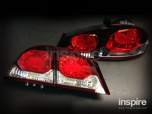 DEPO JDM FD2 Civic Type R Style Tail Lights (Late Model)