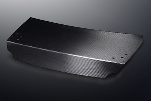 Mines Carbon Fiber Trunk Type I w/o Clear Coat - Nissan GT-R R35