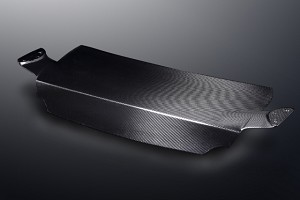 Mines Carbon Fiber Trunk Type II w/o Clear Coat (for Mines Wing) - Nissan GT-R R35