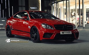 Prior Design C63 Black Edition Widebody Kit  (coupe)