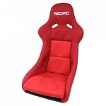 Recaro Pole Position - Jersey Red w/ Red Suede