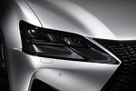 TOM'S Racing Carbon Sheet - Head light - Lexus GS-F