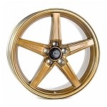 Cosmis Racing R5 Wheel (Hyper Bronze) - 18x8.5 / 5x108 / Offset +40