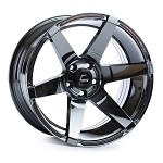 Cosmis Racing S1 Wheel (Black Chrome) - 18x9.5 / 5x114.3 / Offset +15