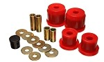 Energy Suspension Rear Differential Carrier Bushings (Red) - Honda S2000 00-09