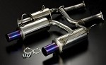 TODA Racing Exhaust - Honda F20C / F22C (AP1, AP2) 70mm system for TODA Racing 2.35L/2.4L KIT