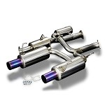 TODA Racing Exhaust System - 70mm system for TODA 2.35L/2.4L KIT - Ver2 - Honda F20C/F22C (AP1, AP2)