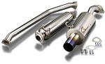 TODA Racing Exhaust - Honda K20A (DC5) (Straight Exhaust Tip)