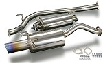 TODA Racing Exhaust - Honda K20A (FD2) (Straight Exhaust Tip)