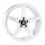 Cosmis Racing R5 Wheel (White) - 18x8.5 / 5x108 / Offset +40